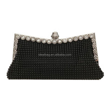 Online hot sale mystery black color ladies eveing purse