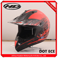 Top quality Newly UV painting special motocross helmet