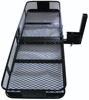 "500LB folding hitch mount cargo carrier basket for 2"" Receivers 62''*27''*3''"
