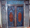 GEBYOK BLUE-ORANGE (1 FRAME/2 DOORS/2 WALLS)