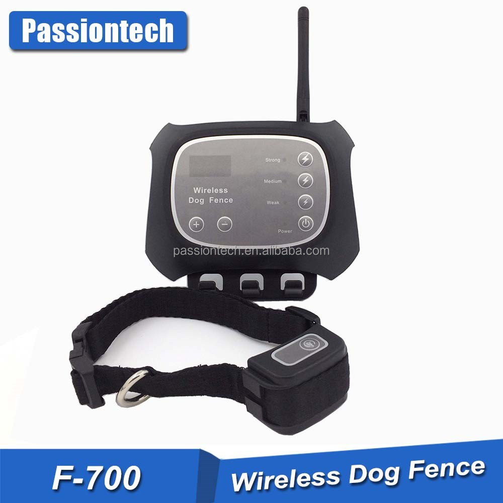 Rechargeable Waterproof Hot No Wire Dog Fence, Indoor Wireless Dog Fence