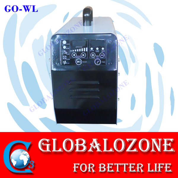 Hotel odor removal LCD touch ozone machine for air duct cleaning