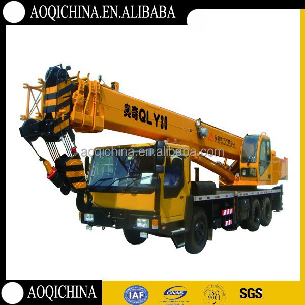 Telescopic boom Top quality as kato 30 ton Mobile Crane
