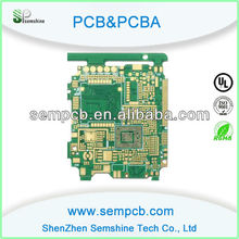 4 layer HDI PCB with ENIG + OSP Surface Finished, Made of FR4 TG150