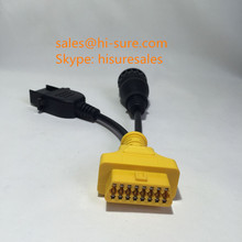 volvo obd2 8 pin 14pin truck diagnostic cable for volvo truck