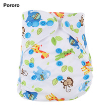 Pororo Eco-friendly Reusable Nappy Cloth Diapers,Baby Diapers in Korea