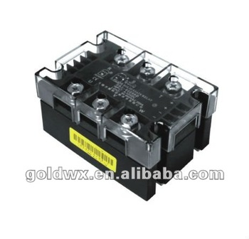 three phase ssr relay with heat sink