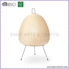 2016 New Products Printed Unique Egg Shape Floor Paper Lantern