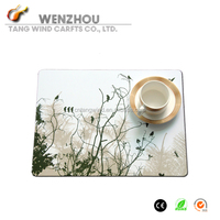 heat resistant wooden UV dining table mat