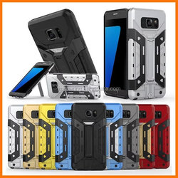 Combo Shockproof case cover for Samsung Galaxy S7, Hybrid stand case for Galaxy S7 edge