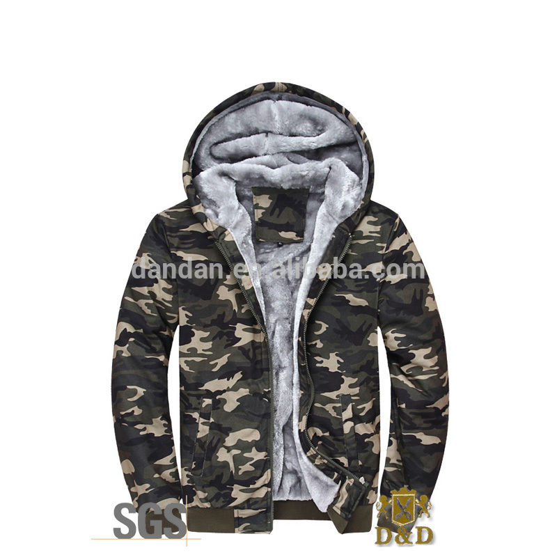 Latest 100cotton winter camouflage coat for men and women