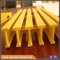 fire retardant Molded FRP Grating with Bi-directional Strength