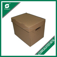 Strong A flute corrugated carton box specification with custom tyre design for export