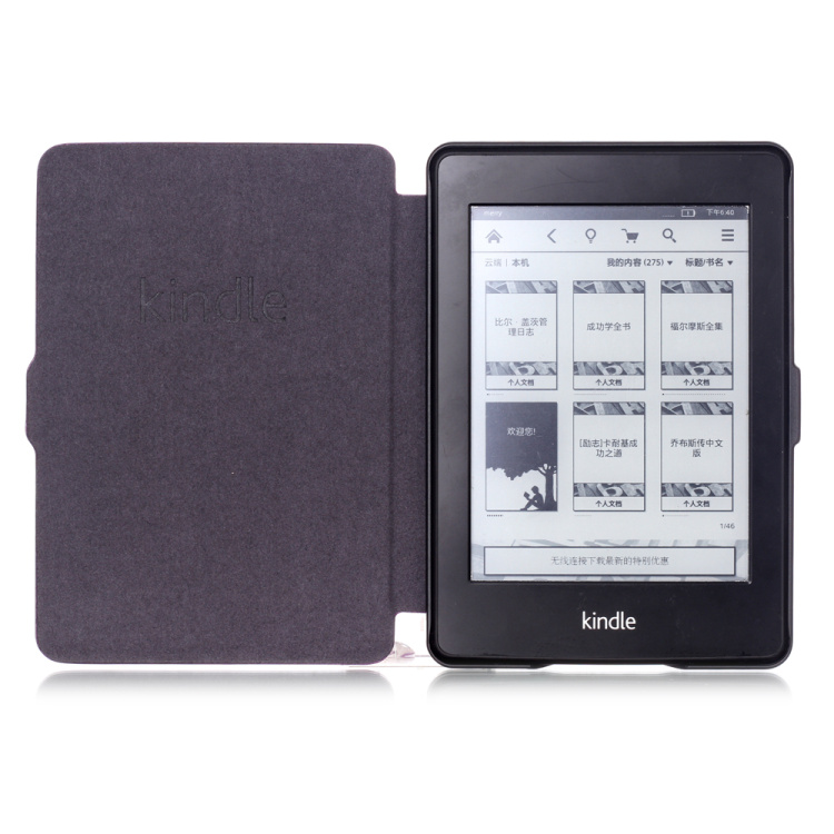 Kindle Paperwhite Old Book Cover ~ Auto sleep wake function smart tablet flip book cover for