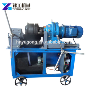 Electric Motor Driven thread rolling machine in russia mumbai india for Rebar Project Use