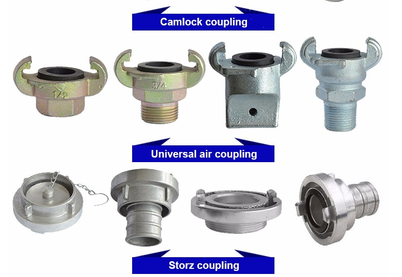 China Supplier Stainless Steel Hose Fitting 8 Inch Camlock Coupling
