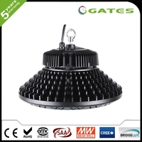 CE/RoHS UFO 100W led high bay lights meanwell driver for indoor/outdoor use