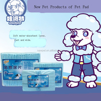 Top quality direct sale puppy training pads dog pee biodegradable pet pad