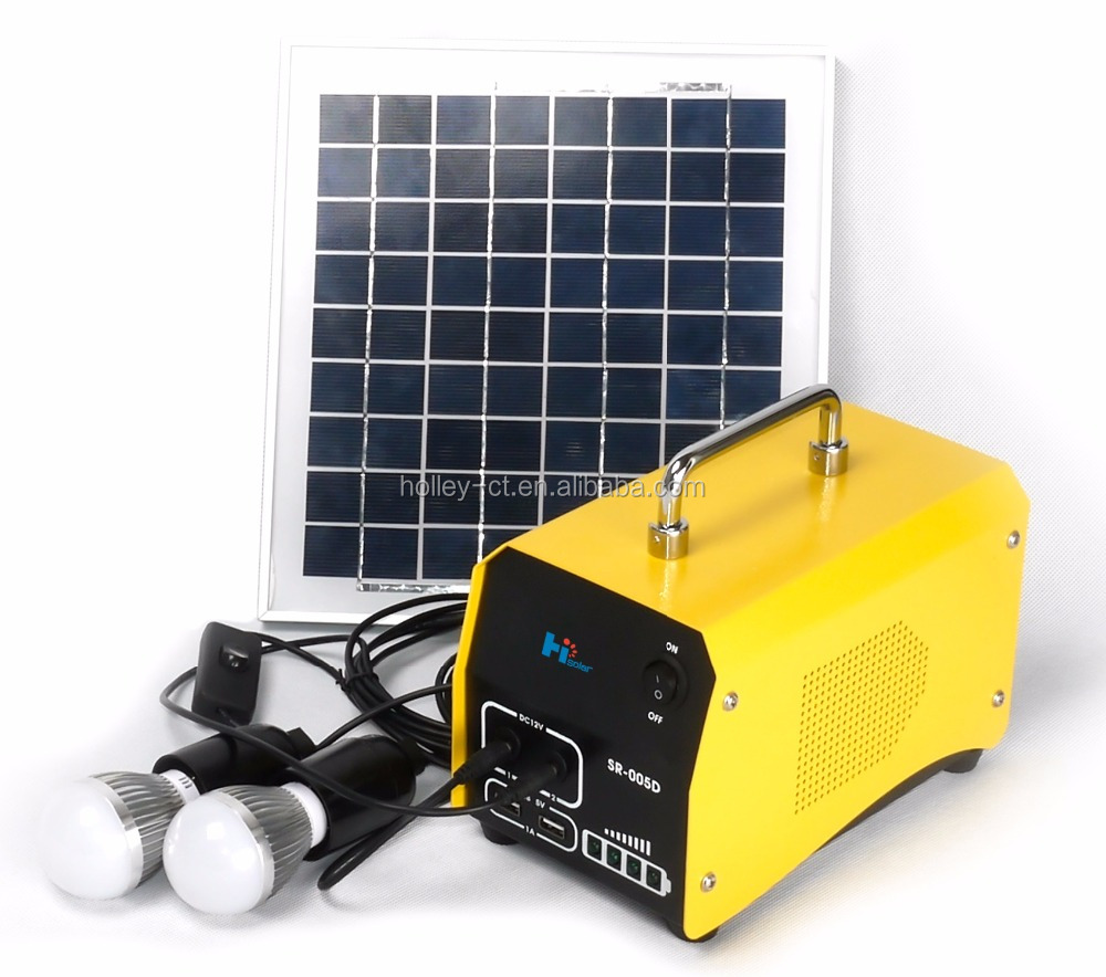 5W Normal Specification and Home Application Solar Power System
