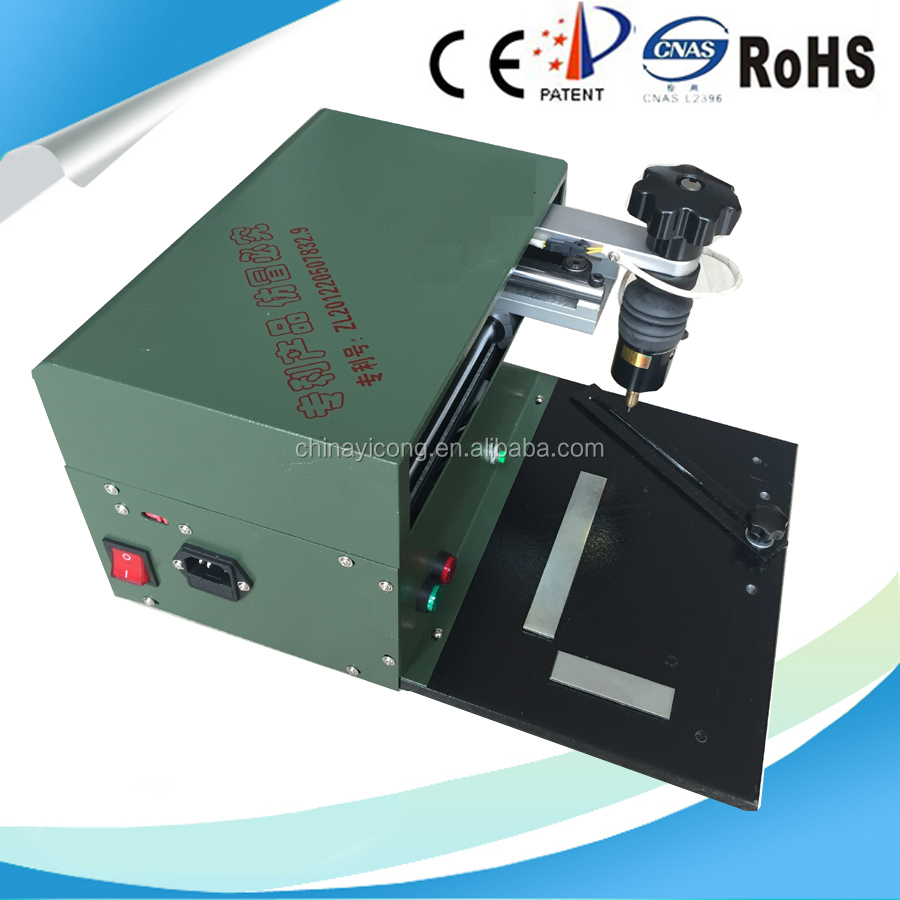 high quality cheap price Desktop pneumatic marking system/scribe marking machine