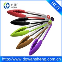 BPA Free Made of 100% Food Grade High temperature resistance silicone tong