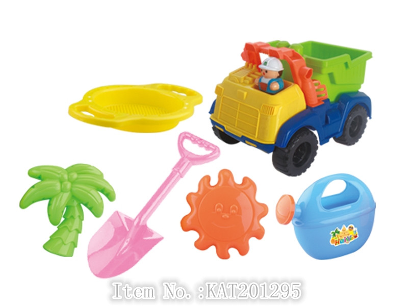 New Design Kids Outdoor Summer Toys Plastic Sand Beach Car Toy Set For Sale