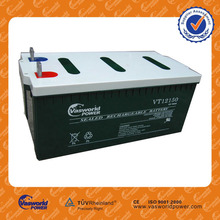 factory price sealed lead acid gel battery 12v150Ah deep cycle battery for solar wind ups power system battery agm
