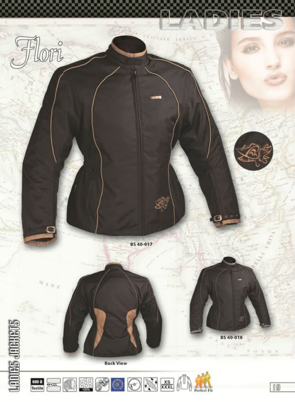 Moterbike Motorcycle Textile cordura Jacket. CE Proved