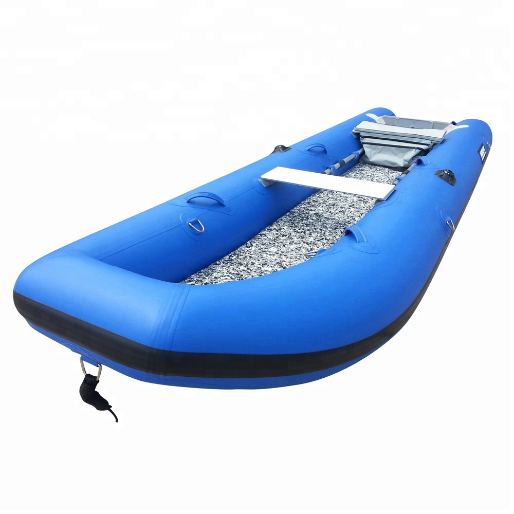 high speed blue aluminum floor rowing <strong>boat</strong> pedal <strong>boat</strong>