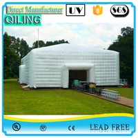 White outdoor inflatable recreational activities tent customized advertising bubble tent,giant camping tents