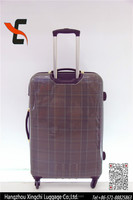 Beautiful and popular 4 spinner wheels trolley luggage for travel
