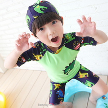 KS20138B Wholesale European and American style three pieces boys swimwear