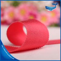 Promotion China custom wholesale delicate rayon grossgrain woven ribbon