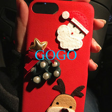 2017 hot selling trending product 5 inch mobile accessories cover phone case Christmas gift for iPhone X and 8