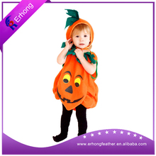 Kids pumpkin cosplay costume