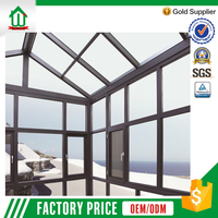 Customized aluminium elegant design aluminium sunroom