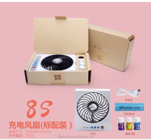 Baby Carriage Charging Fan Small Cooling Fan Computer Cooling Fan Toy