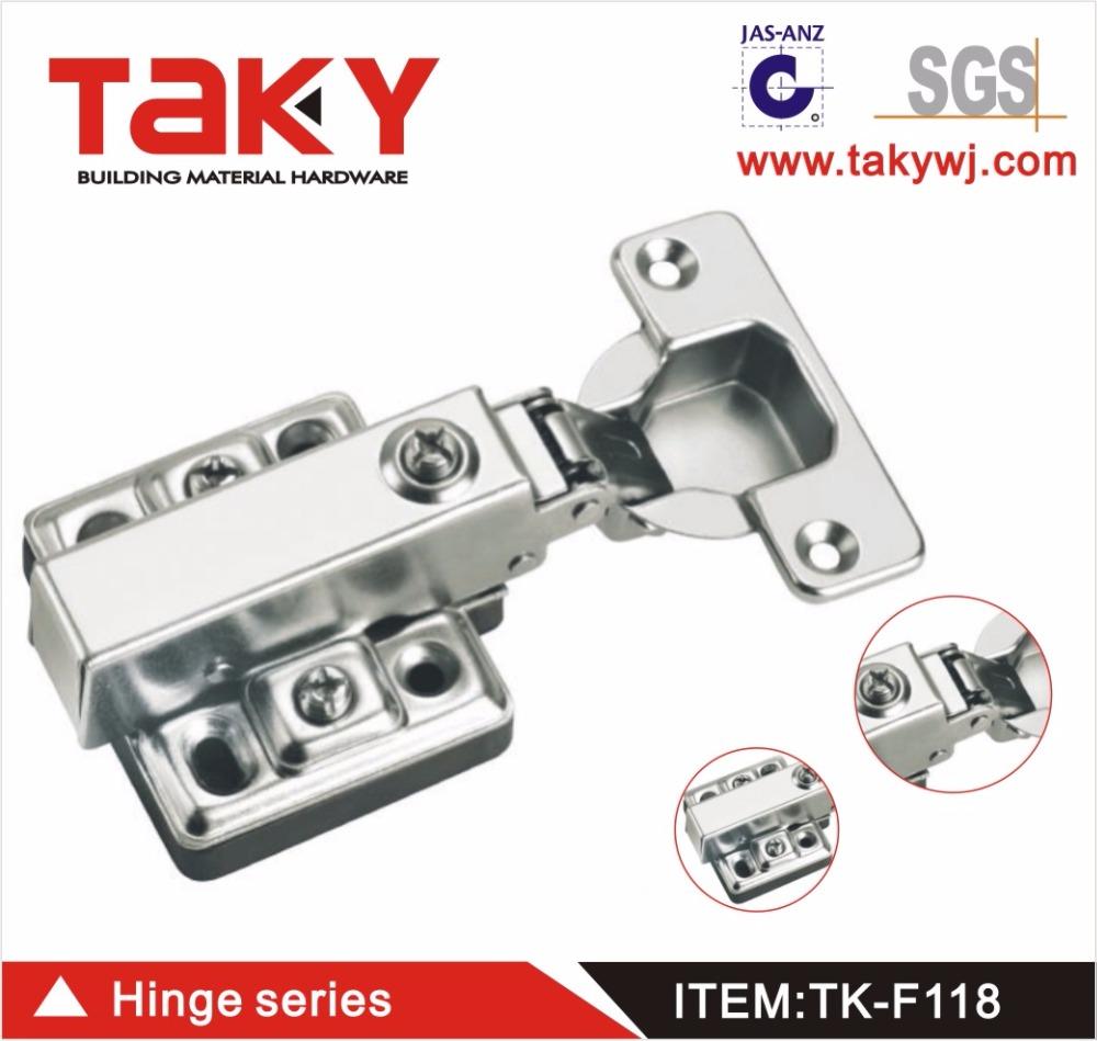tk-f118 offset scharniere für schranktüren & topfscharniere für