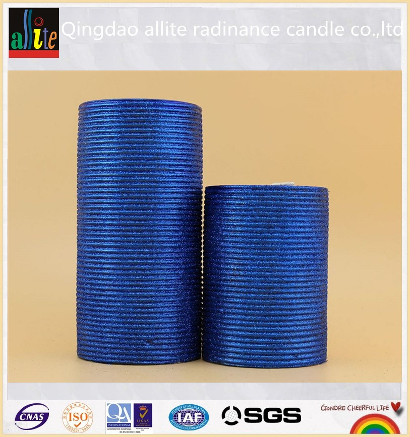 Religious soy wax candle for roman decorative pillar candle wholesale