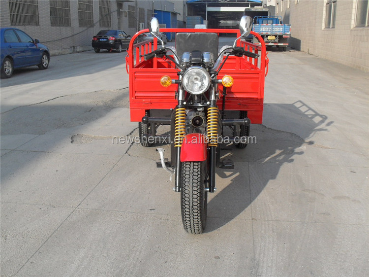Motor Tricycle Vehicle 150CC EEC 3 Wheels Cargo Tricycle Single Cylinder Air Cooled 4 Stroke