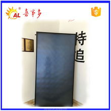 Swimming pool solar heater with solar selective absorber coating