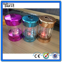 Latest water bubble small speaker/flashing round small speaker/Water bubble card audio speakers