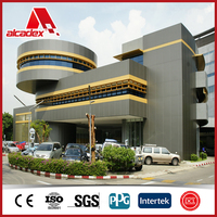 outdoor construction material exterior wall cladding sheet ACM/ACP
