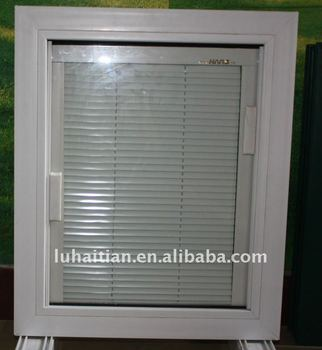 Upvc casement window built in blinds view upvc casement for Best window treatments for casement windows