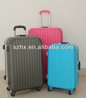 durable colorful hard shell abs conner luggage