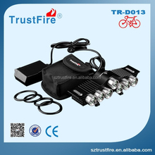 TrustFire bike light D013 7 cree xml 2 led light practical beautiful led decorative bike light