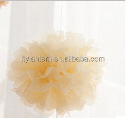 10 inch tissue paper pompoms hanging flower balls for wedding or party <strong>decoration</strong>