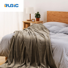 Leisure Textile Flannel Blanket Spring Air Conditioning Blankets Sheets Sofa Leisure Anti Static Blankets