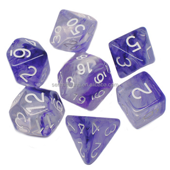 Full Sized Hematiet Zeldzame Poly Dobbelstenen Set-RPG Dungeons And Dragons