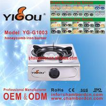 YG-G1003 2 burner gas stove cooker alibaba wholesale gas sotve/oven for kitchen use
